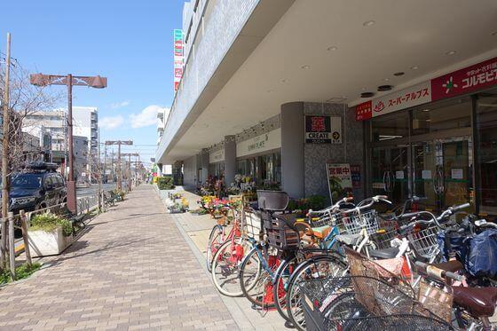 北野駅 北口