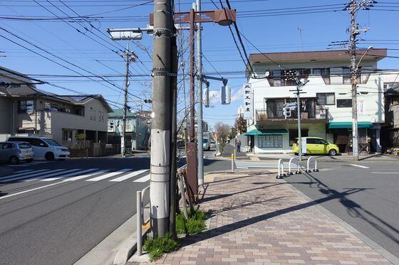北野駅前交差点