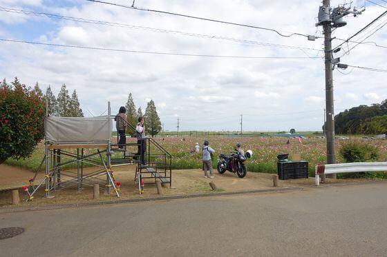 あけぼの山農業公園 花畑