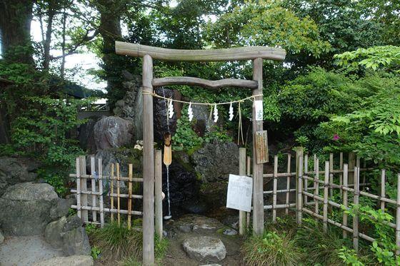 久伊豆神社 越谷 御霊水