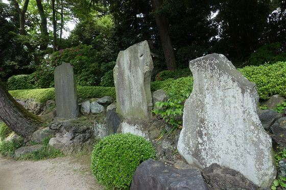 久伊豆神社 越谷 越谷吾山句碑