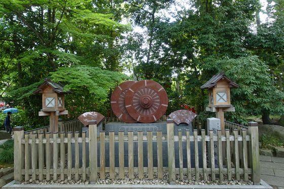久伊豆神社 越谷 木遣り歌碑