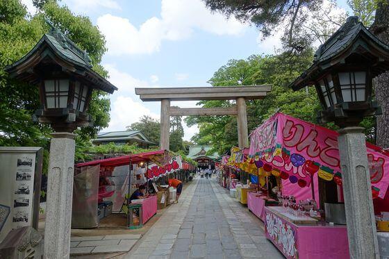 久伊豆神社 越谷 境内