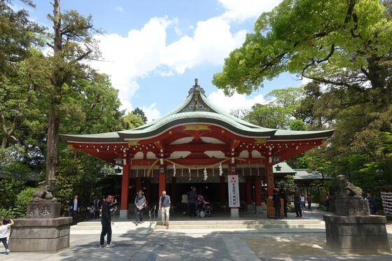 久伊豆神社 越谷 拝殿
