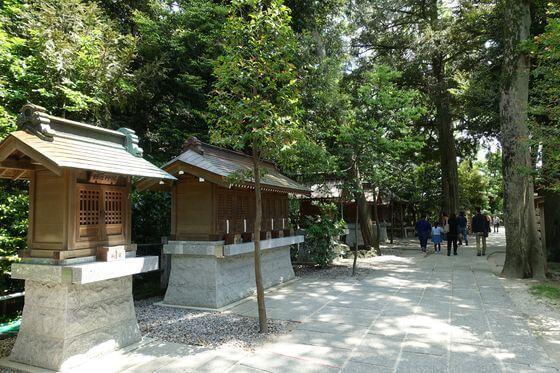 久伊豆神社 越谷 境内摂末社