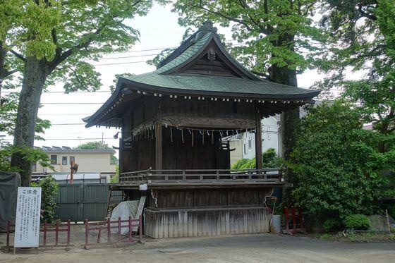 久伊豆神社 越谷 神楽殿