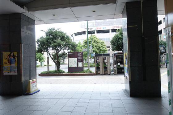 北越谷駅 東口