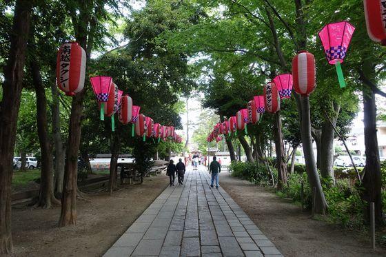 久伊豆神社 越谷 参道
