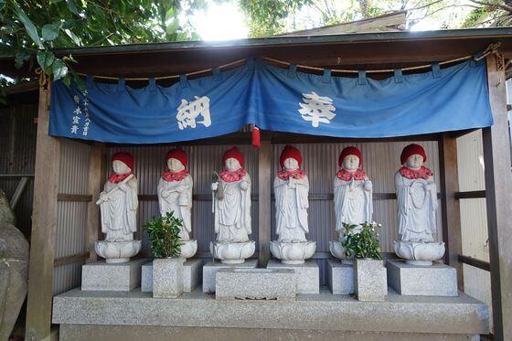 海蔵寺 小田原 六地蔵