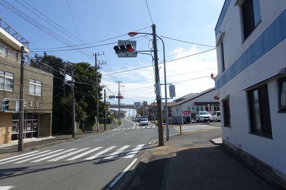 早川駅前交差点