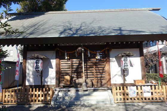 母智丘神社 社殿