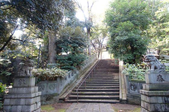 赤坂氷川神社 東側参道