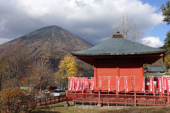 立木観音堂 紅葉