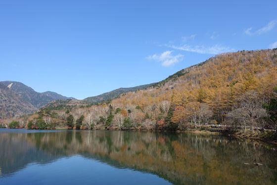 湯ノ湖 紅葉