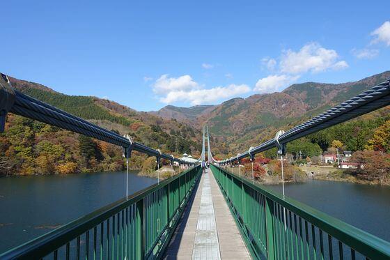 塩原 大吊橋 紅葉