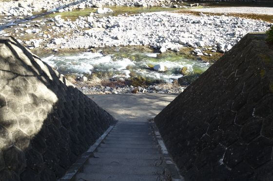 箒川 七ツ岩吊橋