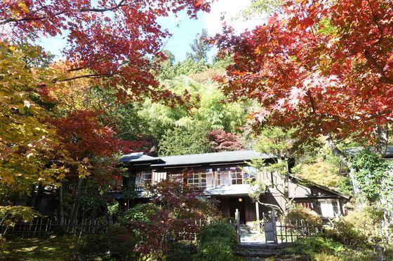 金谷ホテル歴史館 紅葉
