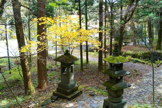 日光 滝尾神社 紅葉