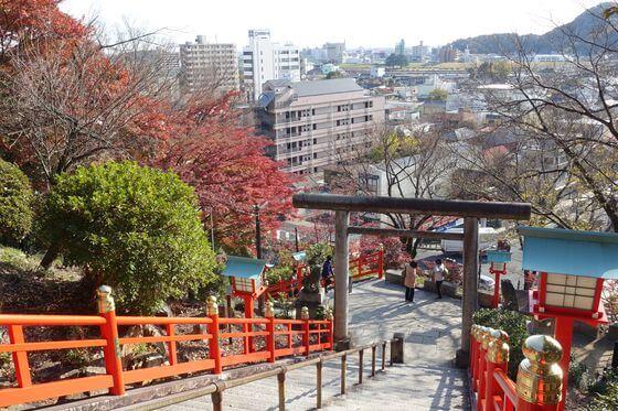織姫神社 紅葉