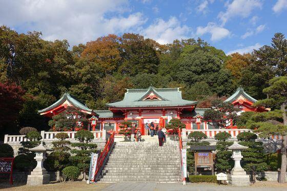 秋 足利織姫神社
