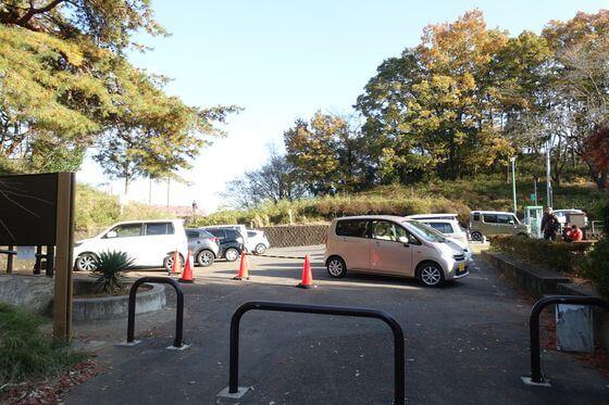 織姫公園もみじ谷 駐車場
