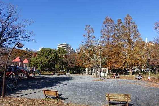 猿江公園 紅葉