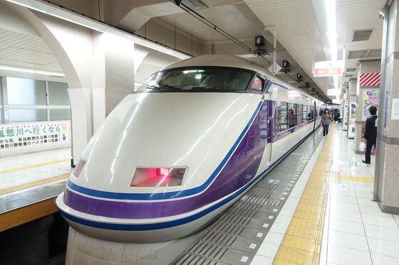 東京 日光 電車