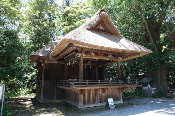 玉敷神社 神楽