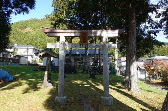 安良沢神社 先憂神社 鳥居