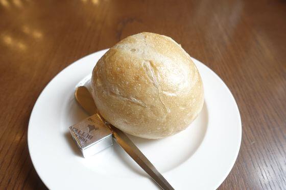 西洋料理 明治の館 パン