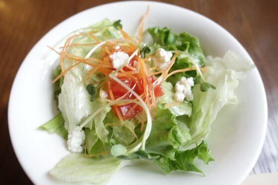 西洋料理 明治の館 サラダ