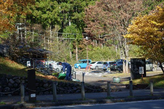 日光田母沢御用邸記念公園 駐車場