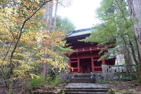 滝尾神社 日光市山内