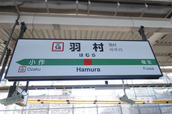 羽村市郷土博物館 電車