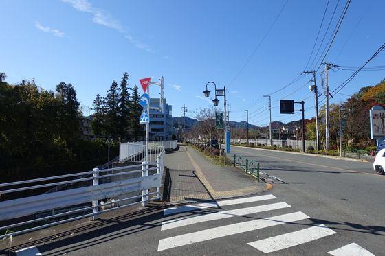 武蔵五日市駅 秋川街道