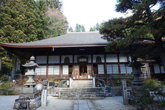 妙雲寺 塩原 本堂