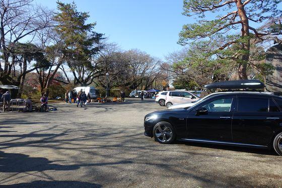 尾曳稲荷神社 館林 駐車場