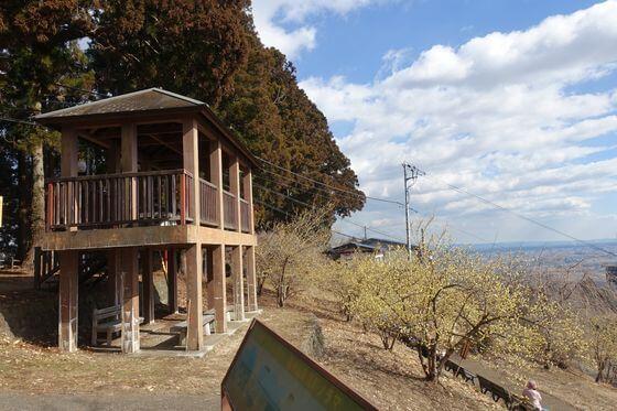 羽黒山 展望台