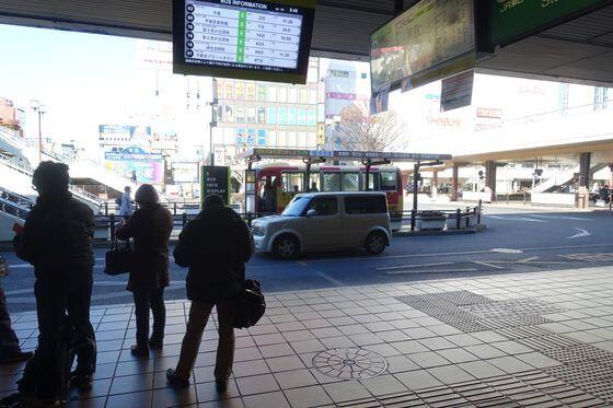 宇都宮駅西口 バス乗り場