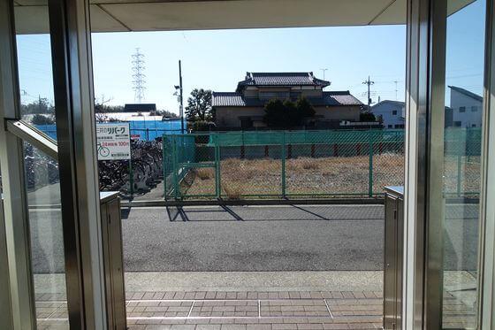 東山田駅 出口1
