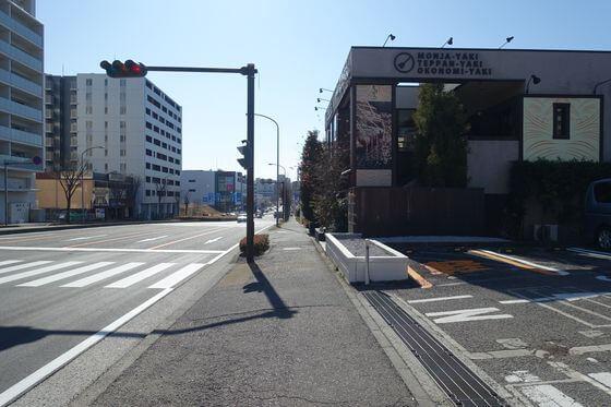 区役所通り 横浜市都筑区