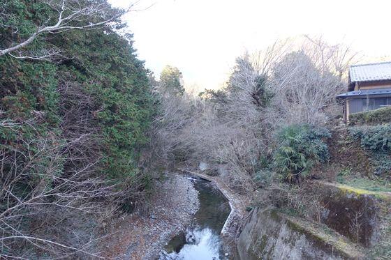 長岳橋 養沢川