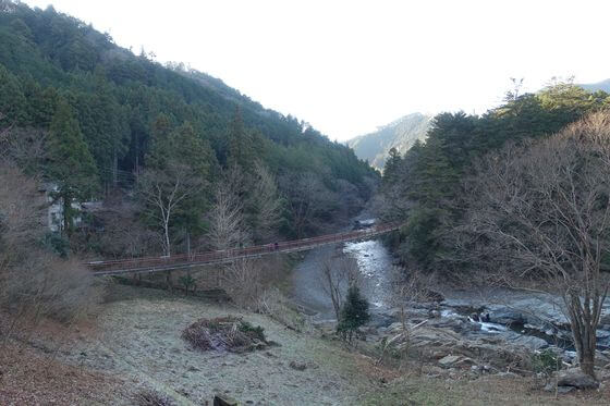秋川渓谷 石舟橋