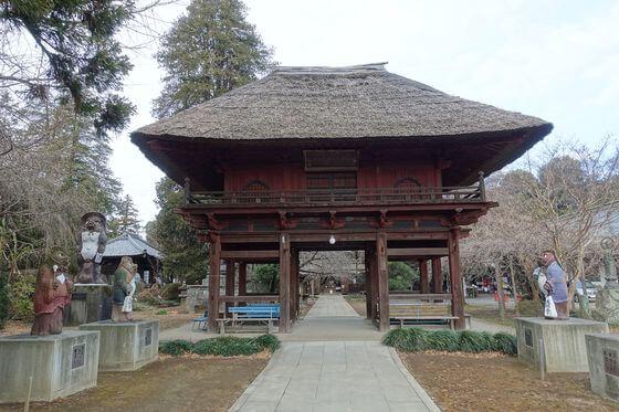 茂林寺 山門