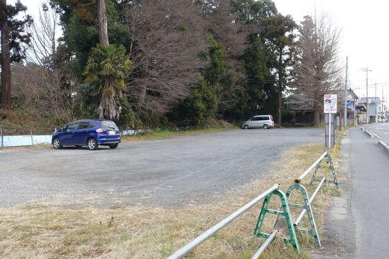 茂林寺 駐車場