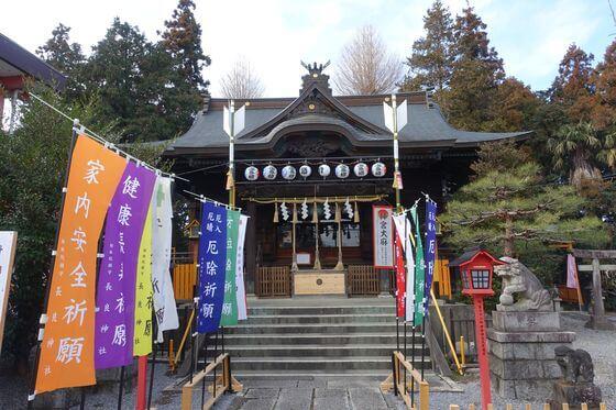 長良神社 館林 拝殿