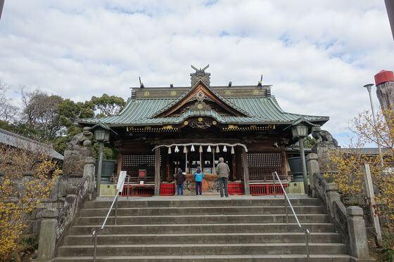 雷電神社 社殿