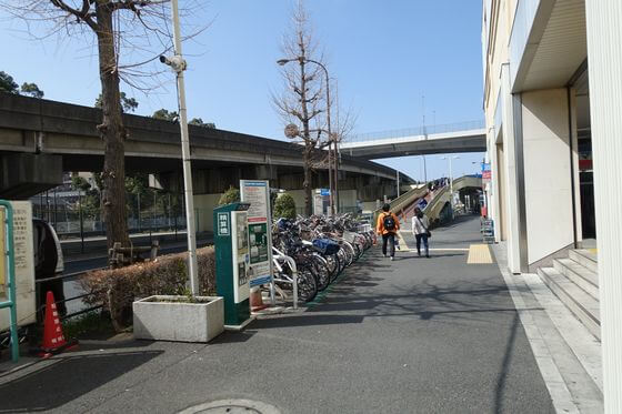 西高島平駅 南口 歩道橋
