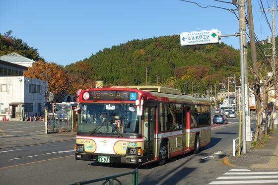 玉林寺 あきる野市 バス