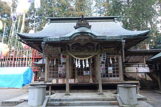 羽黒山神社 宇都宮 社殿